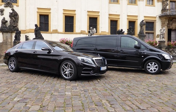 chauffeur service s class from bcs